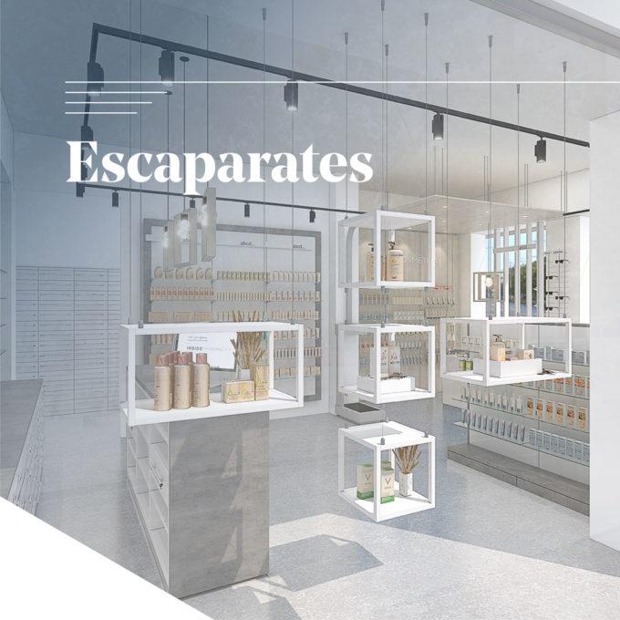 Muebles para Escaparates